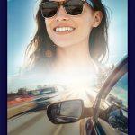 Poster von Rupp + Hubrach zur Autofahrer Sonnenbrille